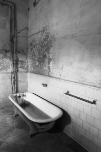 Old bathtub
